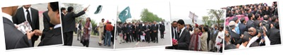 View CJP arrives at his office, in the Supreme Court Of Pakistan, in Islamabad