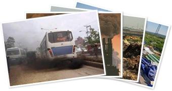 View Pollution choking Pakistan