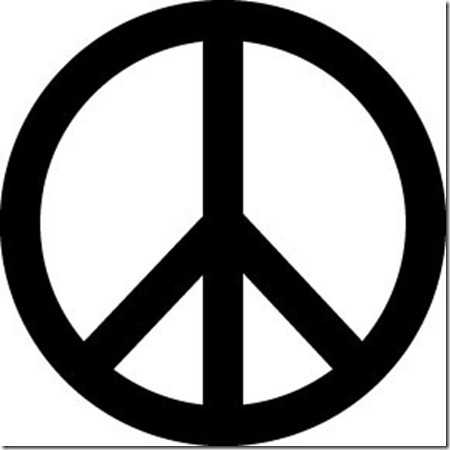 Peace Sign Magnet (9685)